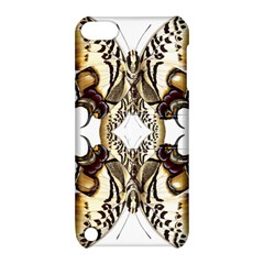 Butterfly Art Ivory&brown Apple Ipod Touch 5 Hardshell Case With Stand by BrilliantArtDesigns