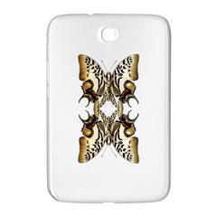 Butterfly Art Ivory&brown Samsung Galaxy Note 8 0 N5100 Hardshell Case  by BrilliantArtDesigns