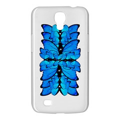 Butterfly Art Blue&cyan Samsung Galaxy Mega 6 3  I9200 by BrilliantArtDesigns