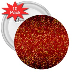 Glitter 3 3  Button (10 Pack) by MedusArt