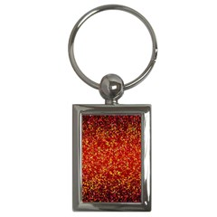 Glitter 3 Key Chain (rectangle) by MedusArt