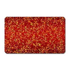 Glitter 3 Magnet (rectangular) by MedusArt