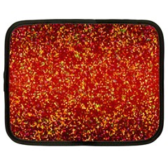 Glitter 3 Netbook Sleeve (xxl) by MedusArt