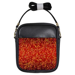 Glitter 3 Girl s Sling Bag by MedusArt