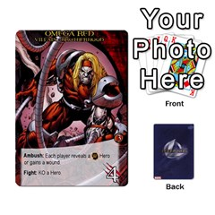 Legendary Villains 1 By Mark   Playing Cards 54 Designs   Agb47bvzb0at   Www Artscow Com Front - Heart6