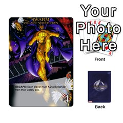 Legendary Villains 1 By Mark   Playing Cards 54 Designs   Agb47bvzb0at   Www Artscow Com Front - Diamond2