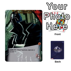 Legendary Villains 1 By Mark   Playing Cards 54 Designs   Agb47bvzb0at   Www Artscow Com Front - Diamond8