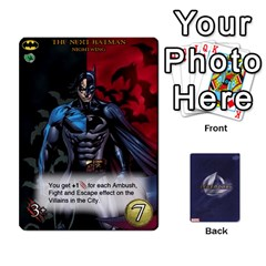 Legendary Batfamily2 By Mark   Playing Cards 54 Designs   U64yxtqn2fkz   Www Artscow Com Front - Heart2