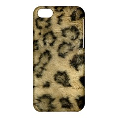 Leopard Coat2 Apple Iphone 5c Hardshell Case by BrilliantArtDesigns