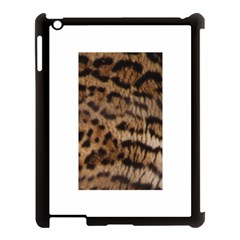 Ocelot Coat Apple Ipad 3/4 Case (black) by BrilliantArtDesigns