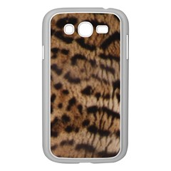 Ocelot Coat Samsung Galaxy Grand DUOS I9082 Case (White) by BrilliantArtDesigns