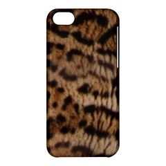 Ocelot Coat Apple Iphone 5c Hardshell Case by BrilliantArtDesigns