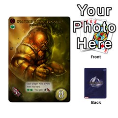 Legendary Expansion5 By Mark   Playing Cards 54 Designs   9q82qk7dvb8w   Www Artscow Com Front - Heart5