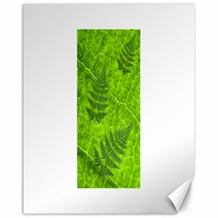 Leaf & Leaves Canvas 16  X 20  (unframed) by BrilliantArtDesigns