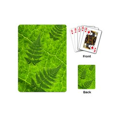 Leaf & Leaves Playing Cards (Mini)