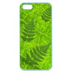 Leaf & Leaves Apple Seamless Iphone 5 Case (color) by BrilliantArtDesigns