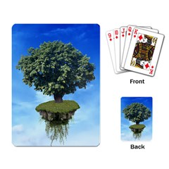 Floating Island Playing Cards Single Design