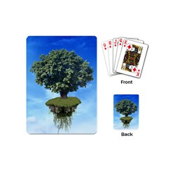 Floating Island Playing Cards (mini) by BrilliantArtDesigns
