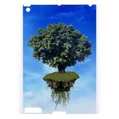 Floating Island Apple Ipad 3/4 Hardshell Case by BrilliantArtDesigns