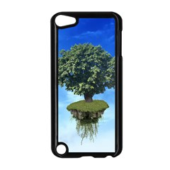 Floating Island Apple Ipod Touch 5 Case (black) by BrilliantArtDesigns