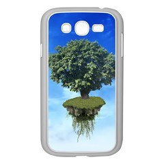 Floating Island Samsung Galaxy Grand Duos I9082 Case (white) by BrilliantArtDesigns