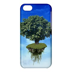 Floating Island Apple Iphone 5c Hardshell Case by BrilliantArtDesigns