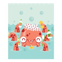 Mr  Bubbles Shower Curtain 60  X 72  (medium) by Contest1771648