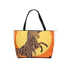 Embracing The Moon Large Shoulder Bag by twoaboriginalart