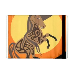 Embracing The Moon Apple Ipad Mini Flip Case by twoaboriginalart
