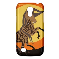Embracing The Moon Samsung Galaxy S4 Mini (gt I9190) Hardshell Case  by twoaboriginalart
