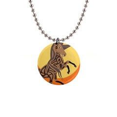 Embracing The Moon Copy Button Necklace