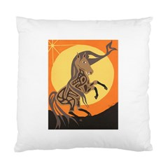 Embracing The Moon Copy Cushion Case (single Sided)  by twoaboriginalart