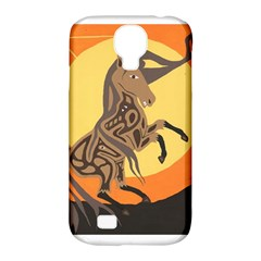 Embracing The Moon Copy Samsung Galaxy S4 Classic Hardshell Case (pc+silicone) by twoaboriginalart