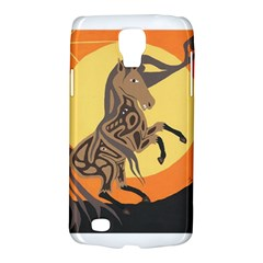 Embracing The Moon Copy Samsung Galaxy S4 Active (i9295) Hardshell Case by twoaboriginalart