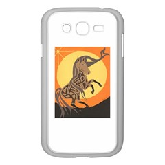 Embracing The Moon Copy Samsung Galaxy Grand Duos I9082 Case (white) by twoaboriginalart