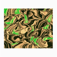 Retro Swirl Glasses Cloth (small, Two Sided) by Colorfulart23