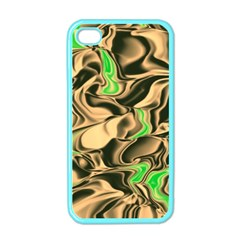 Retro Swirl Apple Iphone 4 Case (color) by Colorfulart23
