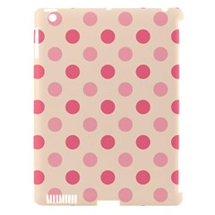 Pale Pink Polka Dots Apple Ipad 3/4 Hardshell Case (compatible With Smart Cover) by Colorfulart23