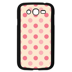 Pale Pink Polka Dots Samsung Galaxy Grand Duos I9082 Case (black)