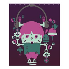 Soul Of Music Shower Curtain 60  X 72  (medium) by Contest1821262