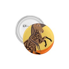 Embracing The Moon 1 75  Button by twoaboriginalart