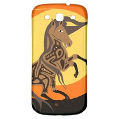 Embracing The Moon Samsung Galaxy S3 S Iii Classic Hardshell Back Case by twoaboriginalart