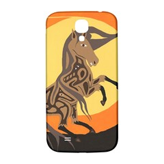 Embracing The Moon Samsung Galaxy S4 I9500/i9505  Hardshell Back Case by twoaboriginalart