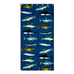 Fish 2 Shower Curtain 36  x 72  (Stall)