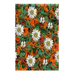 Flowers Shower Curtain 48  x 72  (Small) by Contest1852090