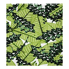 Leaves Shower Curtain 66  X 72  (large)