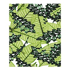Leaves Shower Curtain 60  X 72  (medium)