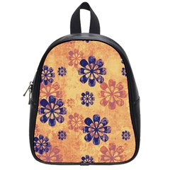 Funky Floral Art School Bag (small) by Colorfulart23