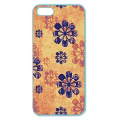 Funky Floral Art Apple Seamless Iphone 5 Case (color) by Colorfulart23