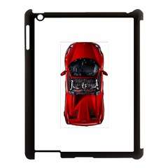 Ferrari Sport Car Red Apple Ipad 3/4 Case (black) by BrilliantArtDesigns